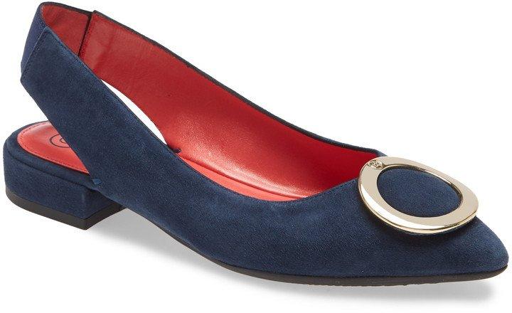 Janet Slingback Pointy Toe Flat