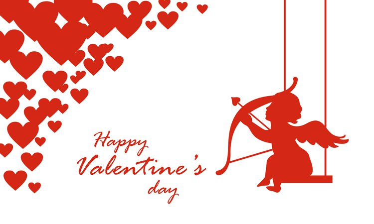Valentine's Day Grahpic