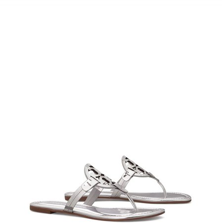Miller Sandal, Metallic Leather