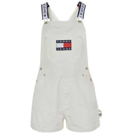 Tommy Jeans Denim Dungaree Shorts