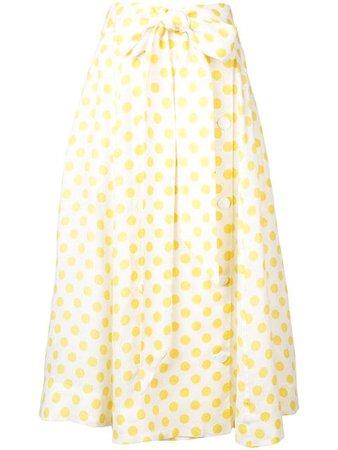 Lisa Marie Fernandez Polka Dot Full Skirt
