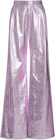 Markarian Metallic Wide Leg Pants