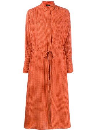 Shop Joseph midi shirt dress with Express Delivery - FARFETCH