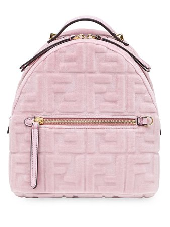 Fendi Mochila Mini Con Estampado FF - Farfetch
