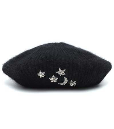 Exclusive To Mytheresa – Embellished Mohair Beret - Jennifer Behr | Mytheresa