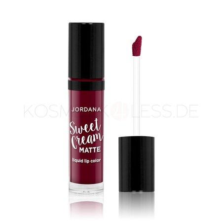 Jordana - Liquid Lipstick - Sweet Cream Matte Lip Color - Sweet Marsala Wine   kosmetik4less