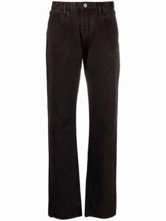 The Attico mid-rise straight-leg Trousers - Farfetch