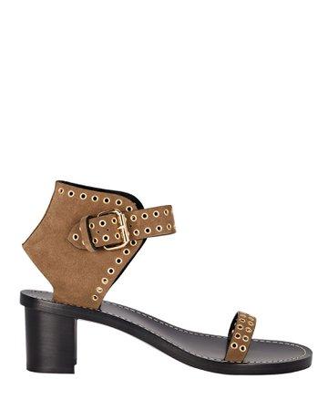 Isabel Marant Jionee Suede Sandals | INTERMIX®