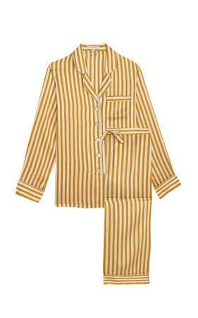 Olivia von Halle Lila Silk Pajama Set