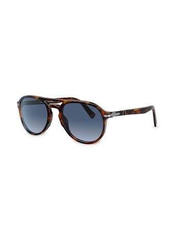 Persol Tortoiseshell Aviator Sunglasses - Farfetch