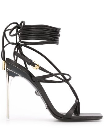 Versace Sandales à Lacets - Farfetch
