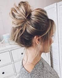 messy hair bun - Google Search