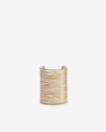 Wide Wrapped Cuff Bracelet | Express