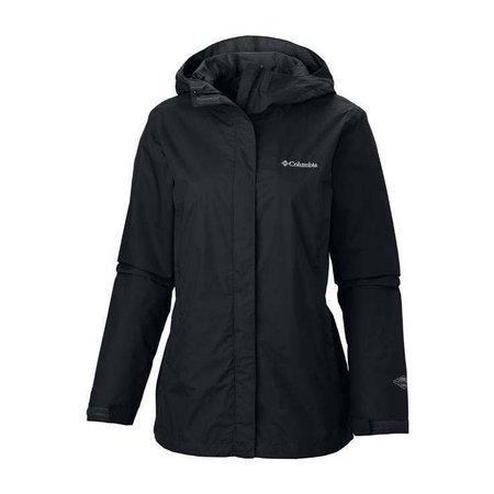 Columbia Arcadia Black Rain Jacket