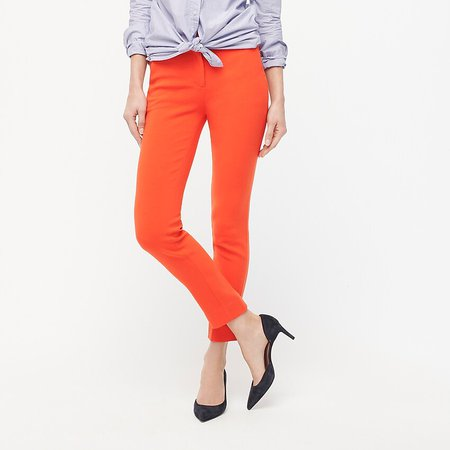 J.Crew: Cameron Slim Crop Pant In Four-season Stretch