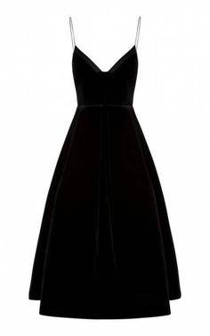 Alex Perry Black Velet Dress