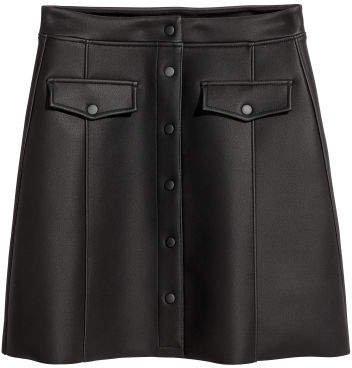 Flared Skirt - Black