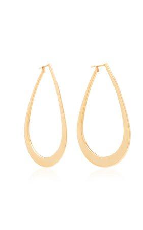 18K Rose Gold Hoop Earrings by Sidney Garber | Moda Operandi