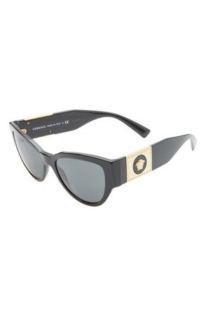 Versace Phantos 55mm Cat Eye Sunglasses | Nordstrom