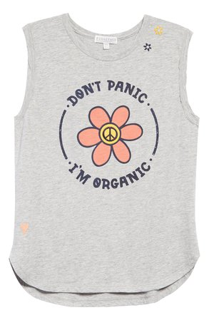 PJ Salvage Don't Panic I'm Organic Muscle Tank | Nordstrom