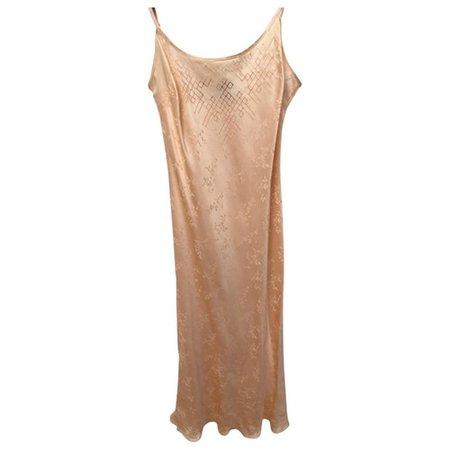 Tia silk maxi dress Réalisation Pink size M International in Silk - 9443355