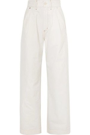 Goldsign | The Trouser high-rise wide-leg jeans