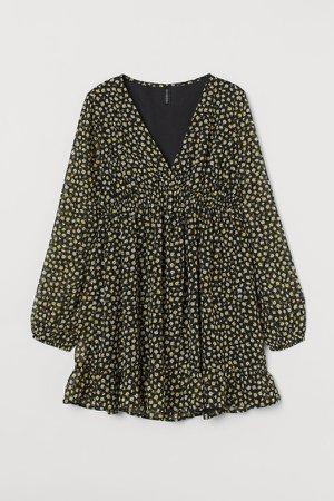 Chiffon Dress - Yellow