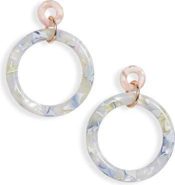 Lele Sadoughi Circle Hoop Earrings   Nordstrom