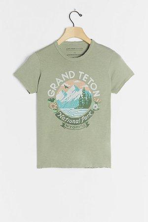 Grand Tetons Graphic Tee   Anthropologie