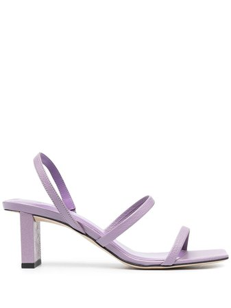 BY FAR Strappy Open Toe Sandals - Farfetch
