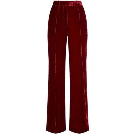 Racil Lincoln Velvet Wide Leg Trousers ($520)