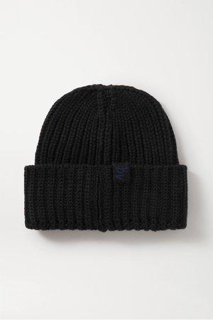 Black Ribbed cashmere beanie | Bottega Veneta | NET-A-PORTER