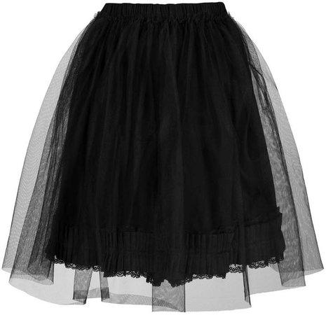 tulle short skirt