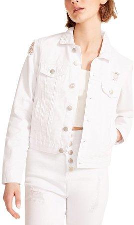Everyday Denim Jacket White