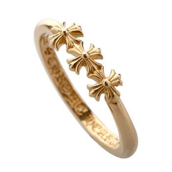 CHROME HEARTS CH PLUS Unisex 22K Gold Rings by MGMarket - BUYMA