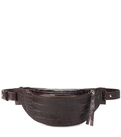 Lubo embossed leather belt bag