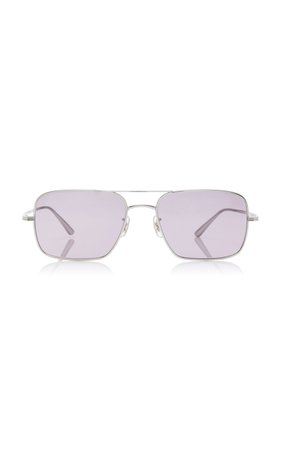 Oliver Peoples THE ROW Victory LA Aviator Sunglasses