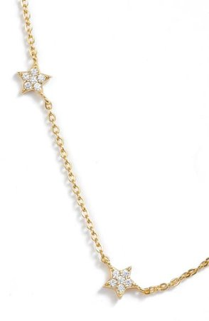 Argento Vivo Pavé Star Choker Necklace | Nordstrom