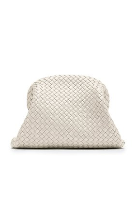 Intrecciato Leather Clutch By Bottega Veneta | Moda Operandi
