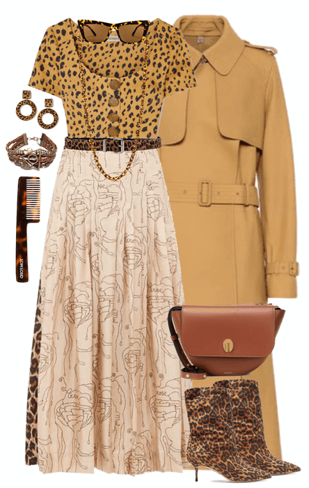 Leopard and Leather Style