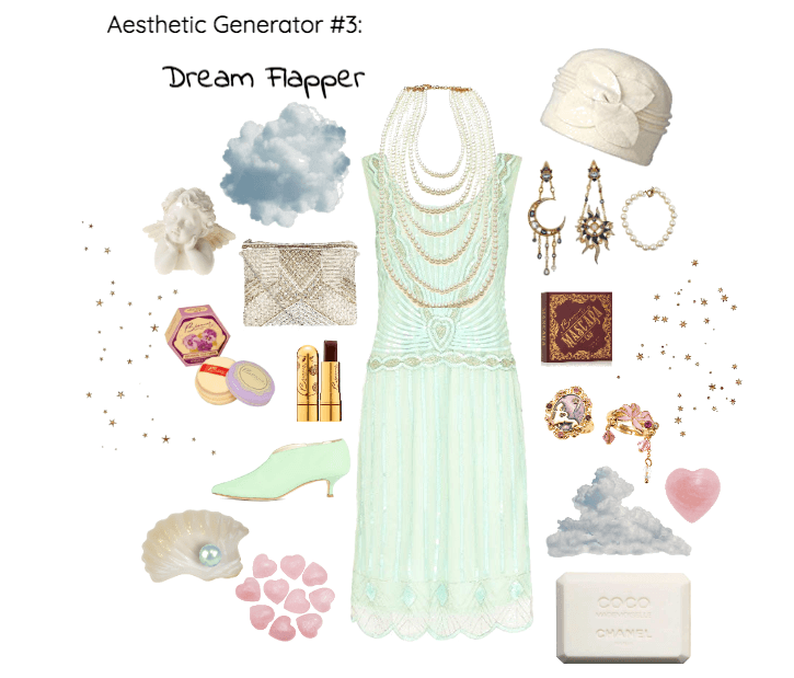 Aesthetic Generator #3: Dream Flapper