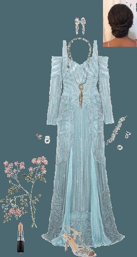 elf gown (Tara)