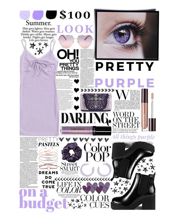 pretty in purple 💜💜 on a budget