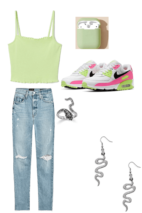 teen girl going shopping