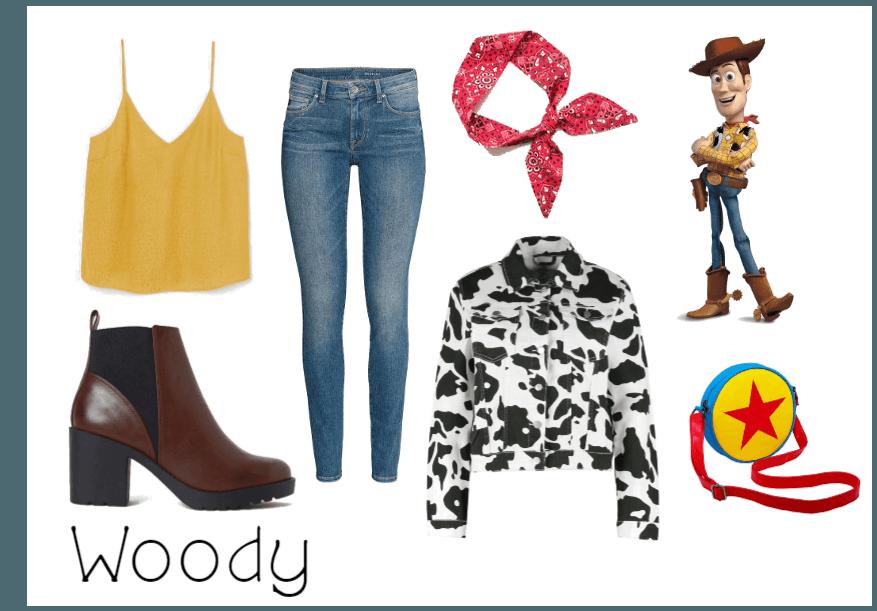 Woody (Toy Story) - Disneybound