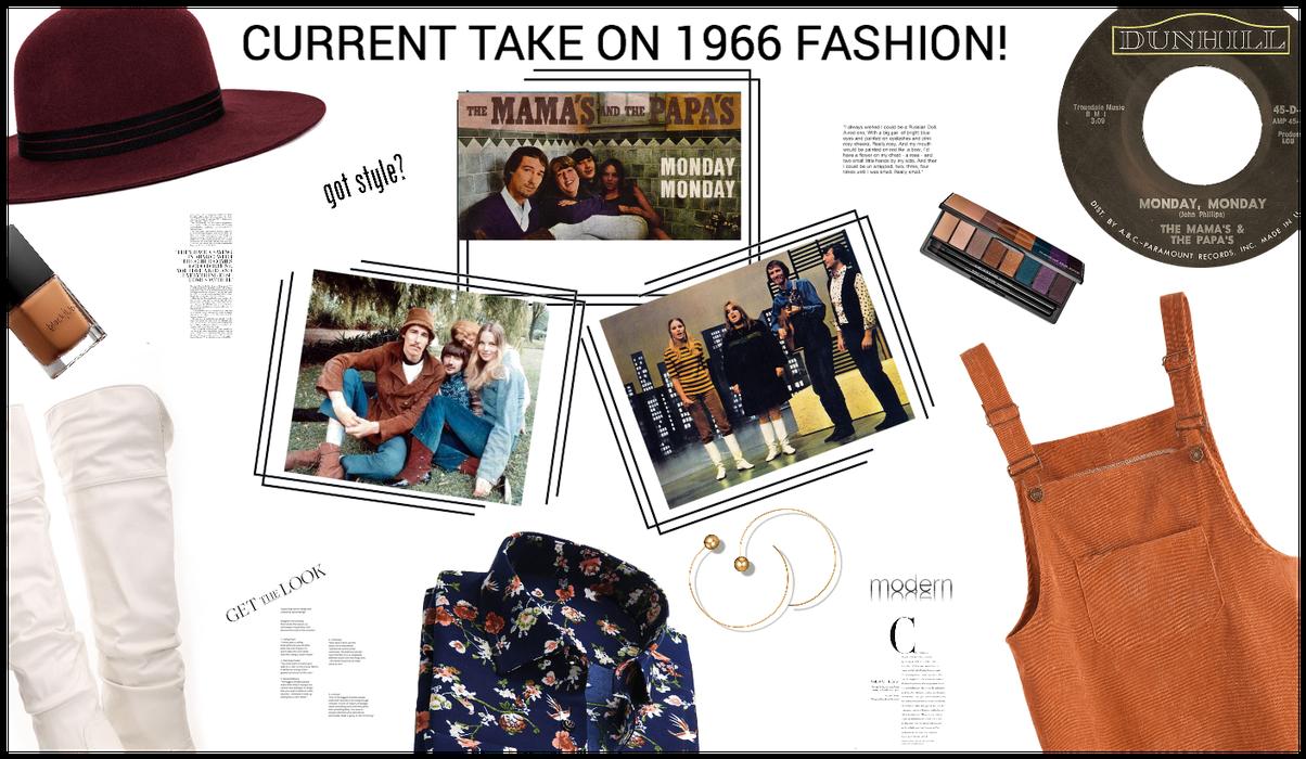 MONDAY MONDAY!  MODERN 1966 FASHION