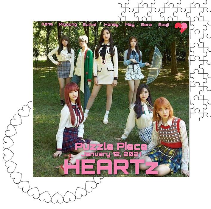 HEARTz// 'Puzzle Piece' Group Teaser Photo (Love Ver)