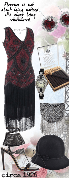 # party Great Gatsby flapper