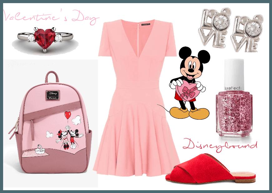 Valentine's Day Disneybound