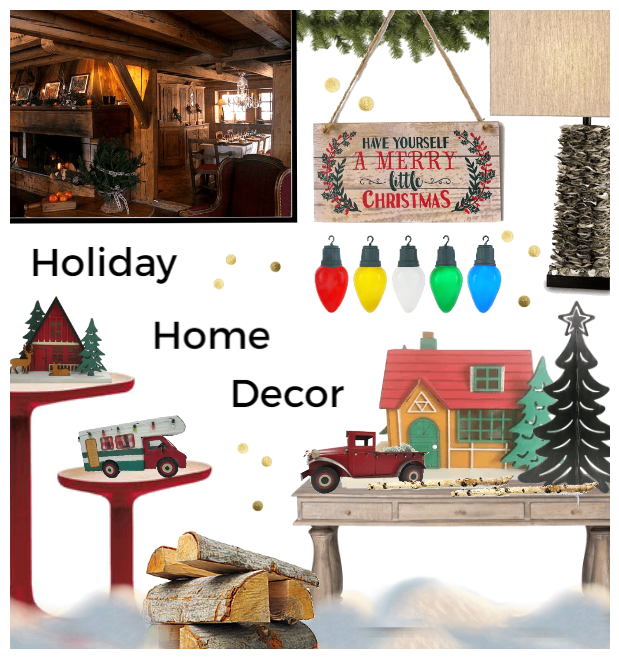 Holiday Home Decor Challenge